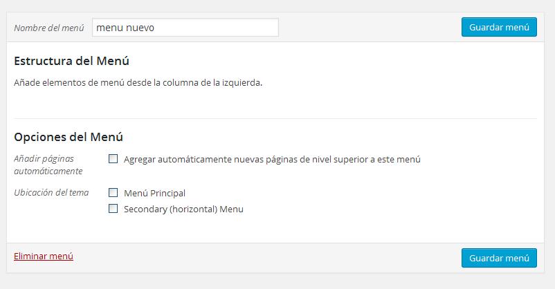 Cómo crear un menú y añadir elementos en Wordpress? | Ignacio Casal ...